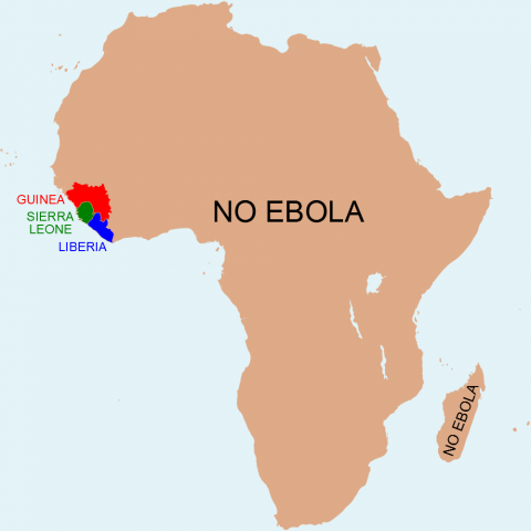 robert mark safaris, ebola risk, ebola map