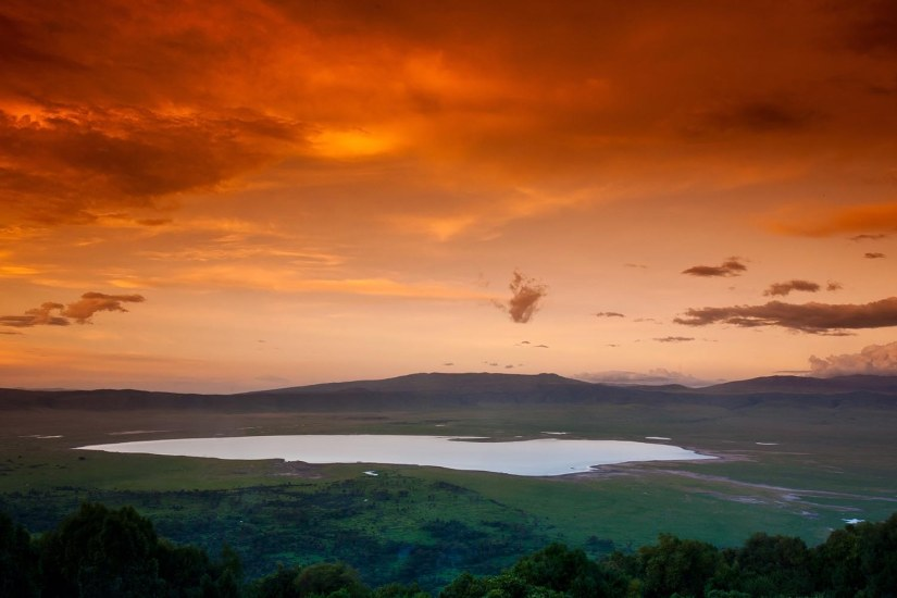 Robert Mark Safaris_Ngorongoro Sunset