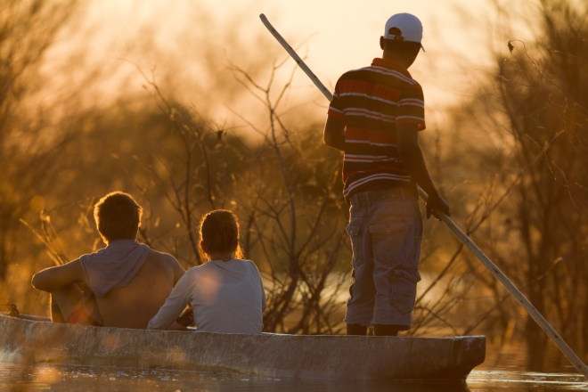 Robert Marks Safaris_Water-based Safari Experience in Botswana